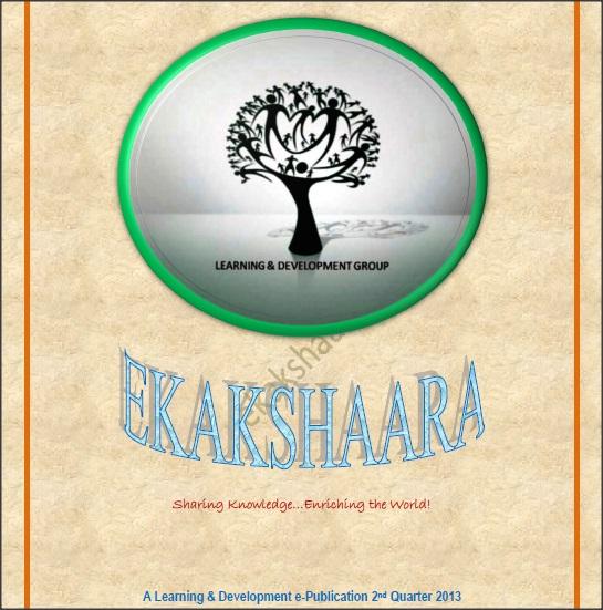 Ekaakshara – Vol 3 – April 2013