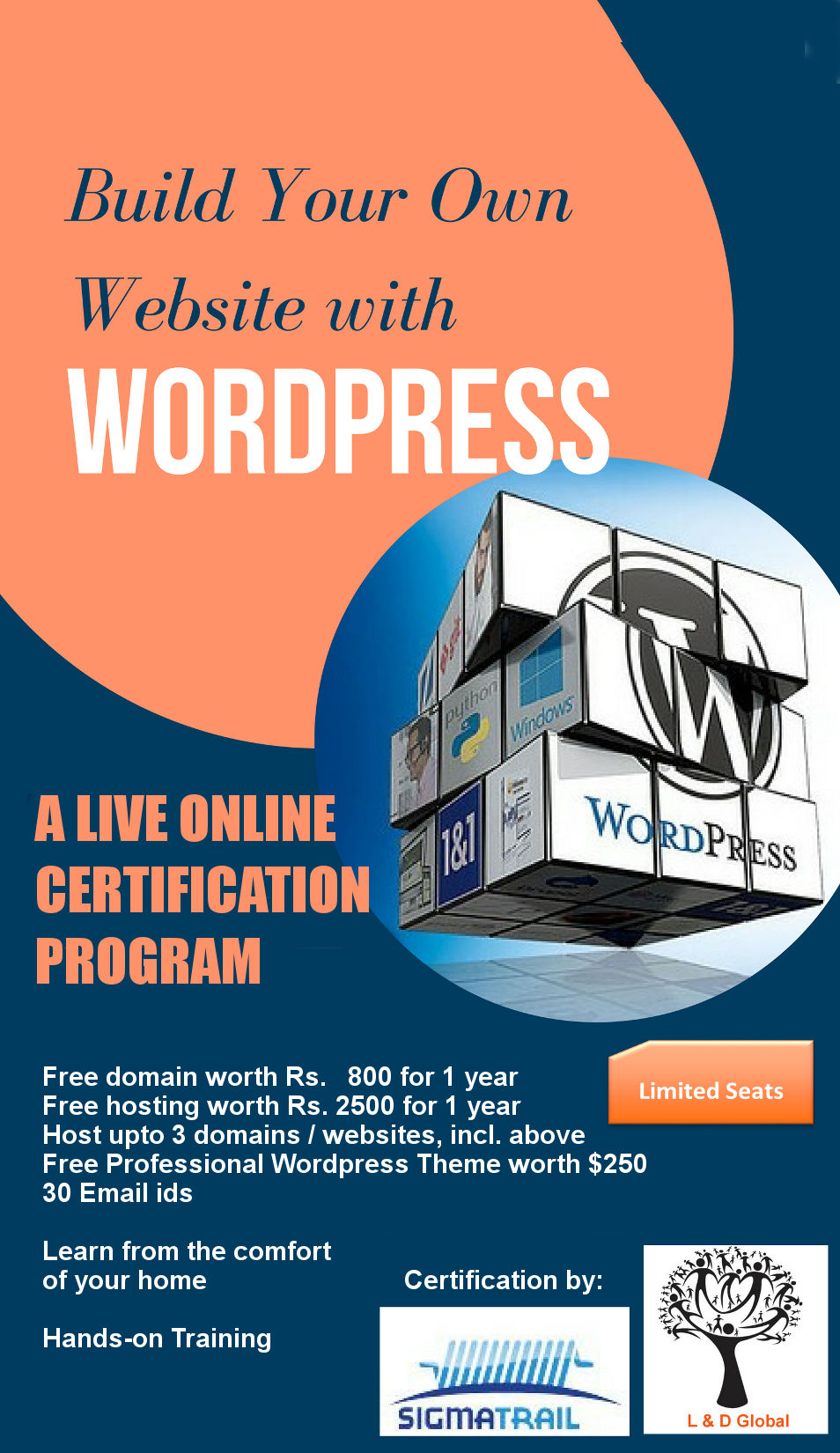 Website With Wordpress Training Learning And Development Global